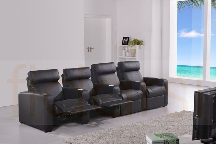 Captivating 4 Seater Home Theatre Lounge. Your Home Cinema Is High Tech And The  Equipment And