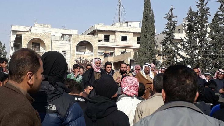 January 13, 2018 - Fort Russ News - Paul Antonopoulos         MANBIJ, Syria - Yesterday a huge number of Syrians in the northern city of Ma...