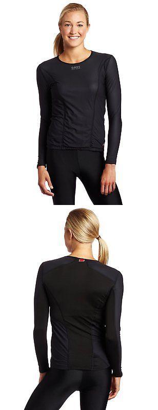Base Layers 177850: Gore Bike Wear Womens Base Layer Windstopper Lady Th Long Shirt Black, Medium -> BUY IT NOW ONLY: $92.06 on eBay!