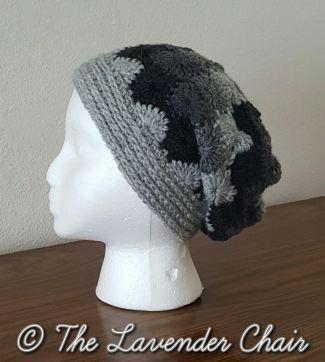Jospehines Slouchy Beanie - Free Crochet Pattern - The Lavender Chair