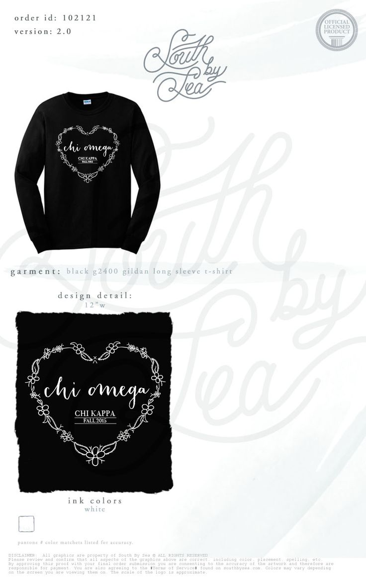 T shirt design quad cities - Chi Omega Xo Floral Heart Long Sleeve Tee South By Sea Greek