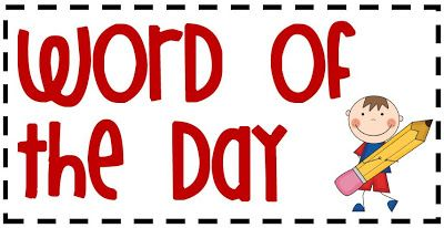 Word of the Day Transitions