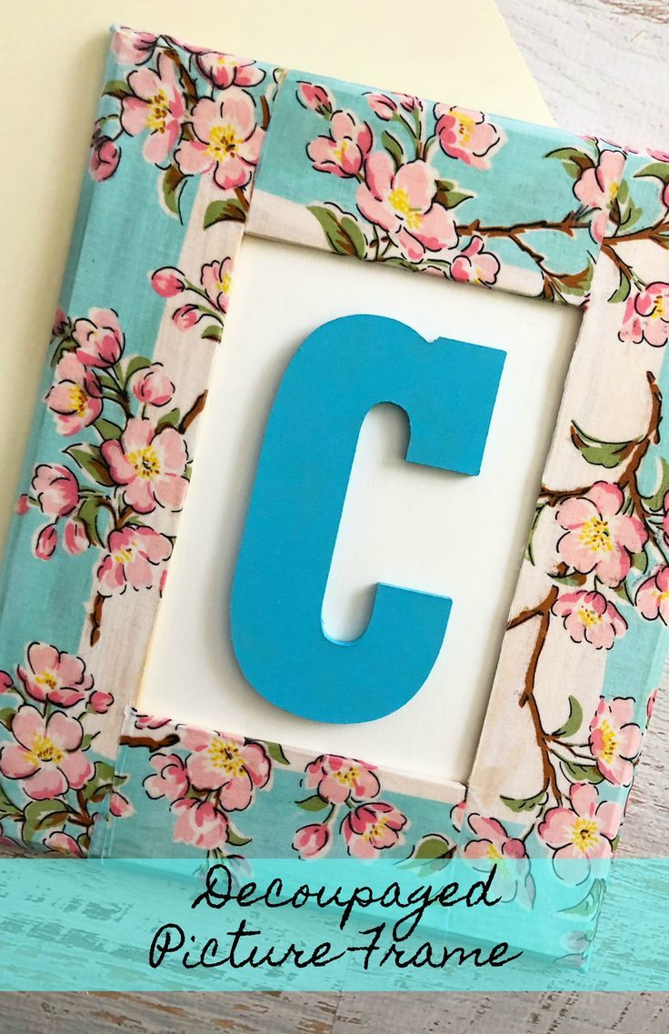 How to Make a Decoupage Frame How to Make a Decoupage Frame new pictures