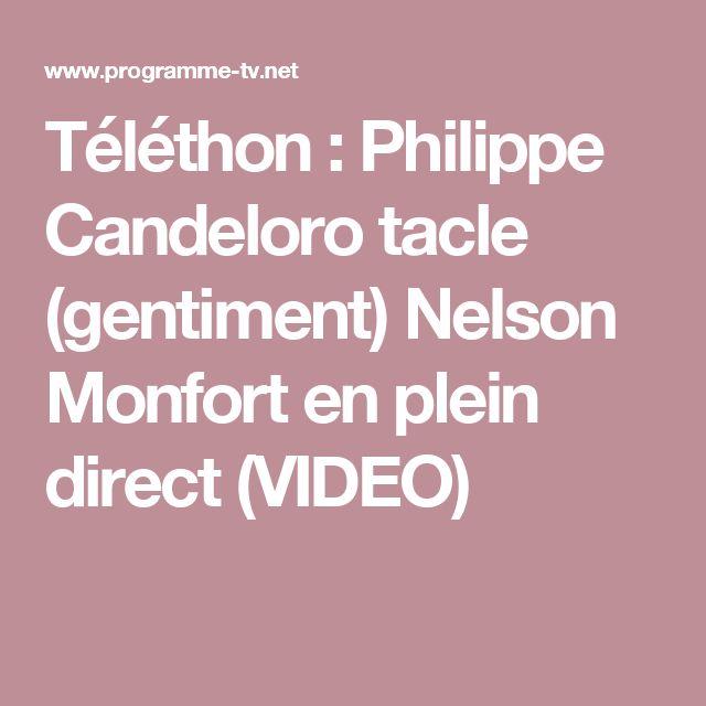 Téléthon : Philippe Candeloro tacle (gentiment) Nelson Monfort en plein direct (VIDEO)