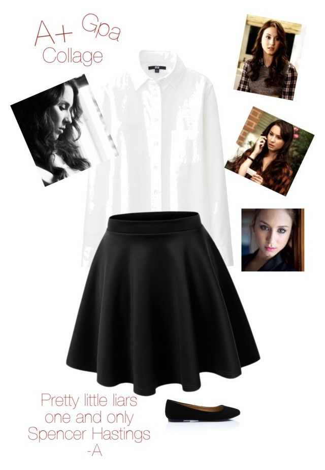 """""""Spencer Hastings outfit #85"""" by shaylenlandal ❤ liked on Polyvore"""