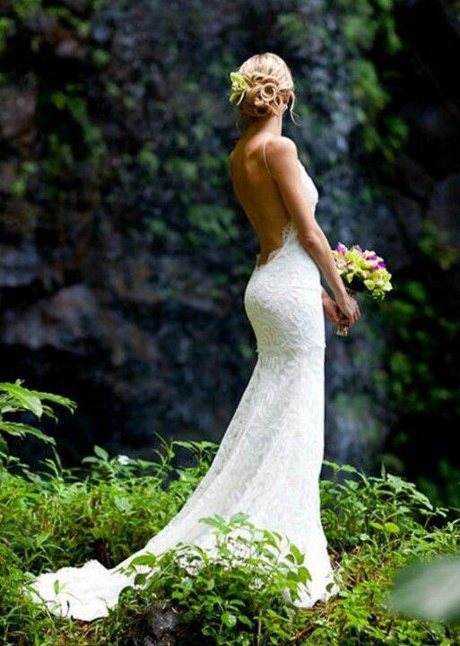 25+ best ideas about Open back gown on Pinterest   Open ... - photo #47