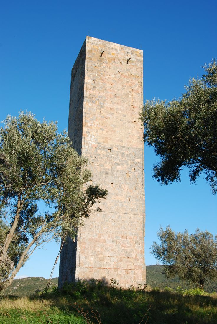 Argentiera spotting tower, in Monte Argentario. #maremma #tuscany #nature #archeologia #archaeology