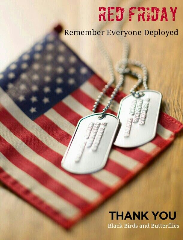 Remember Everyone Deployed... Fridays and EVERYDAY.
