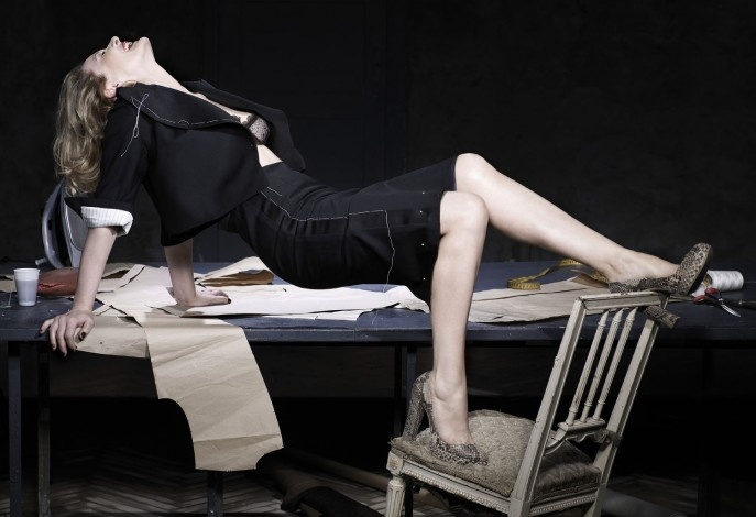 Grażyna Szapołowska in Ossoliński apparel / VIVA foto. Magda Wunshe & Samsel