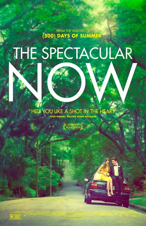 "The Spectacular Now (2013) - A hard-partying high school senior's philosophy on life changes when he meets the not-so-typical ""nice girl."""