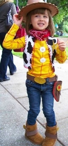 toy story costume the original picture i tried to pin was blocked - Toddler Jessie Halloween Costume