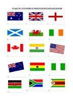 worksheet english speaking countries - Recherche Google