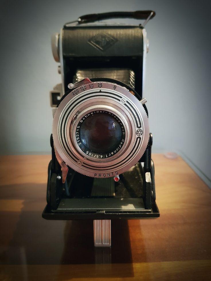 Agfa Billy Record I - Medium format film folding camera - 1950-1952
