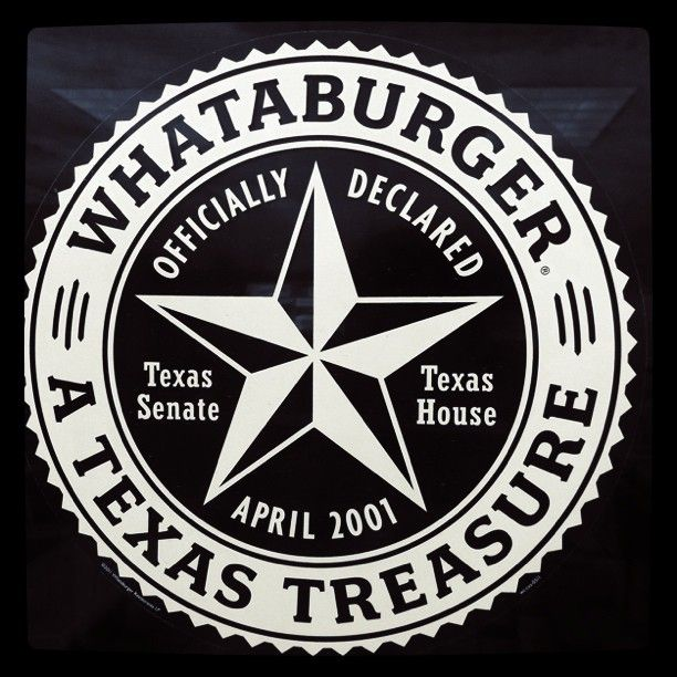 (C/W) WhataBurger pronounced what-a-burger is to Texas what In and Out is to California. Texans LOVE Whataburger! | See more about texas, burgers and texans.