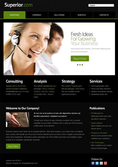 Best Free Business Website Templates #business #health #insurance http://bank.remmont.com/best-free-business-website-templates-business-health-insurance/  #business website templates # Best Free Business Website Templates Let us make you a pleasant surprise today. Below you will find not one, but several free business website templates. so you can choose any that you suppose to be the best one for your plans and ideas implementation. They differ in style and design, but … Read More →