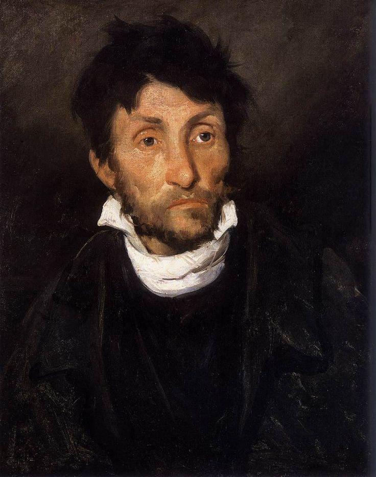 """Theodore Gericault """"Portrait of a Kleptomaniac"""""""