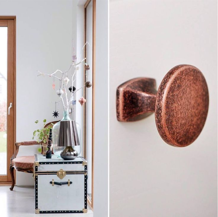When the weather is cold and cloudy, it's about bringing light and warmth into your #home. #design #vintage #retro #antiquecopper #designhandles