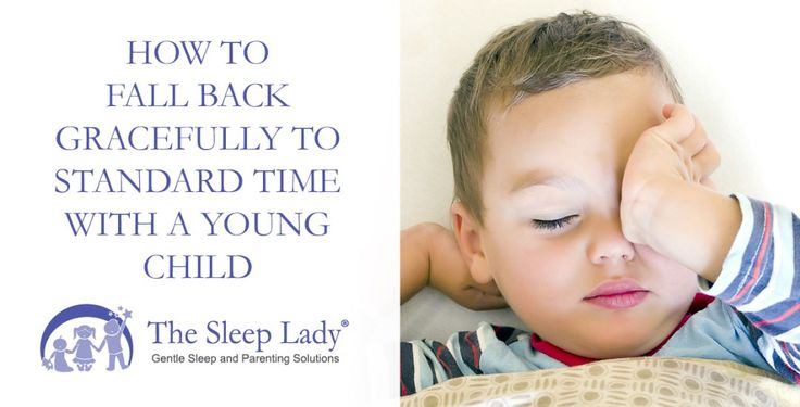 How to Fall Back Gracefully to Standard Time with a Young Child [sleeplady.com] How to Fall Back Gracefully to Standard Time with a Young Child  The articleHow to Fall Back Gracefully to Standard Time with a Young Child first appeared on U.S. News and World Report.  On Sunday Nov. 5 in the United States and Canada and October 29th in Europe we will set our clocks back an hour. For a brief moment it will feel like weve stolen an extra hour ofsleep.  However when you have small children you…
