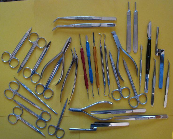 32 St.Zahntechnik,Dental,Pinzette,Wurzelheber Bein,Scheren,chwertiger Edelstahl