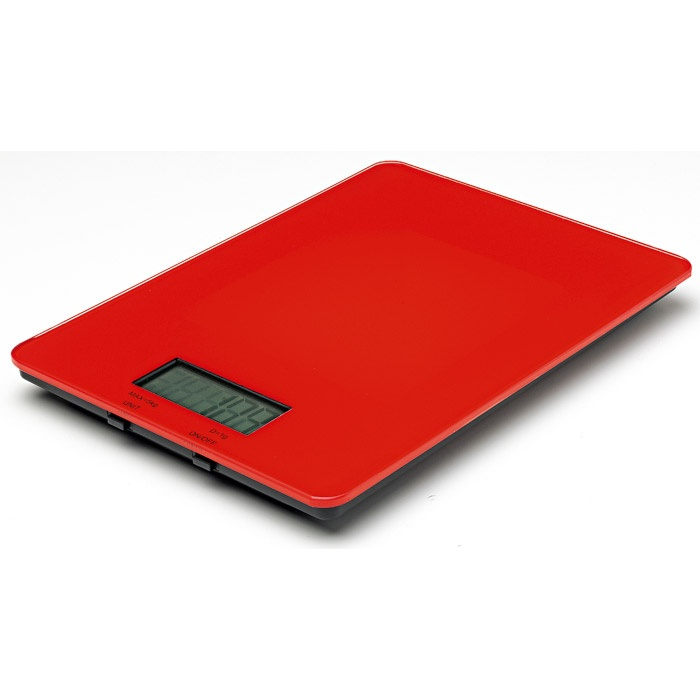 Avanti Digital Kitchen Scales 5kg - Red