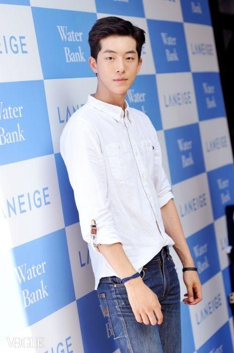 남주혁 Nam Joo Hyuk Photo from Vogue website