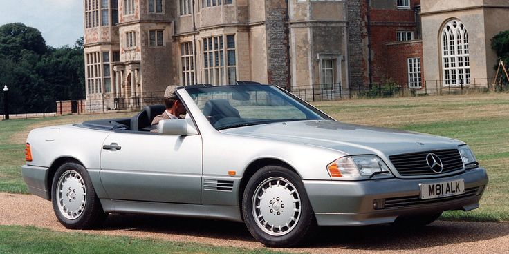 In 1990, The Mercedes-Benz 500SL Was the Pinnacle of Resplendent Luxury