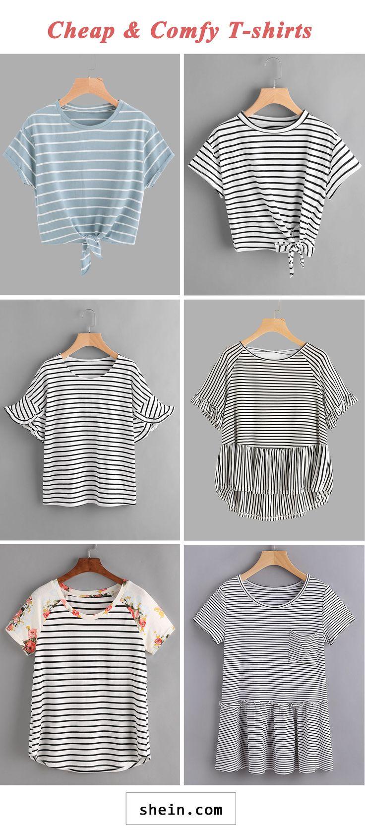 Cheap & comfy T-shirts start at $6!