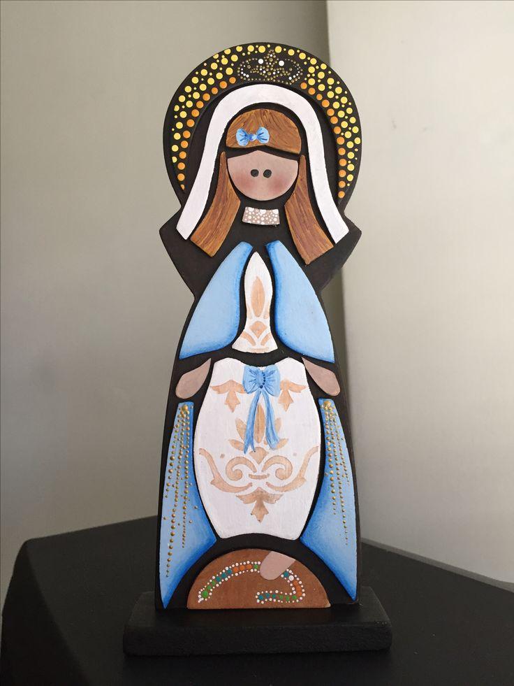 Virgen Milagrosa, elaborada por AV
