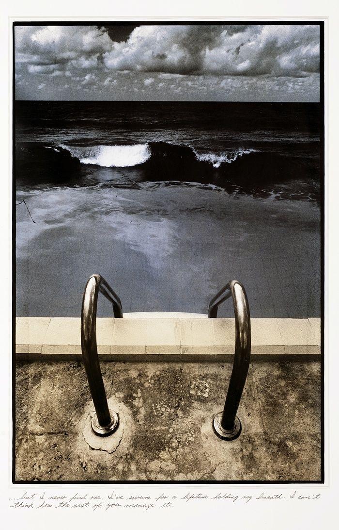 Es solo agua en la lagrima de un estraño.  Cuba exhibition at the International Centre for Photography in New York, US.