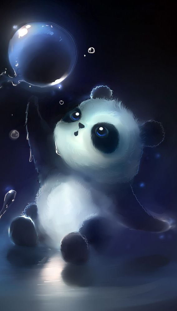 Quality Phone/Tablet Backgrounds in 2020 Cute panda