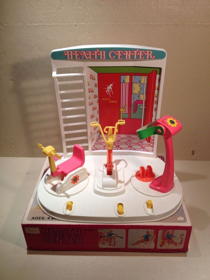 I might have a lot of this. Sears Barbie Health Center, 1970's