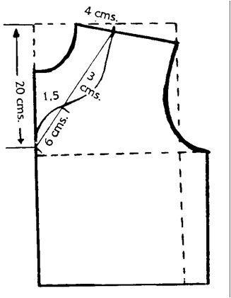 modos de hacer diferentes tipos de escote