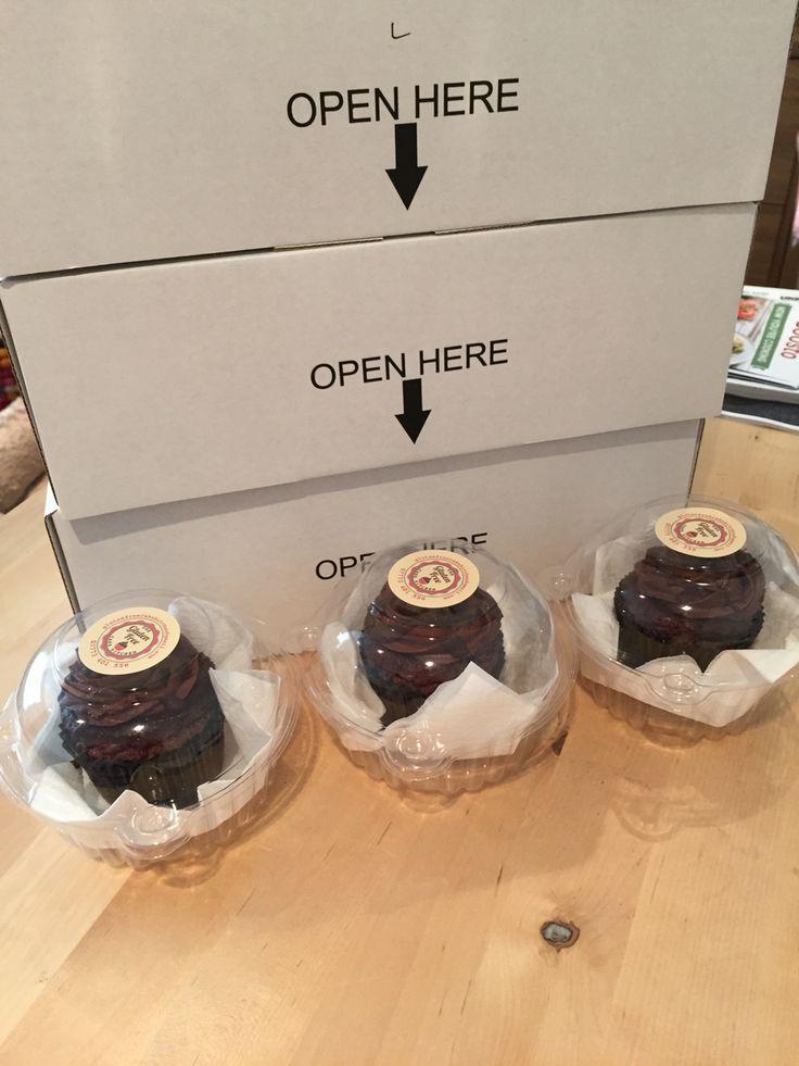 Open a box to gluten free cake heaven!