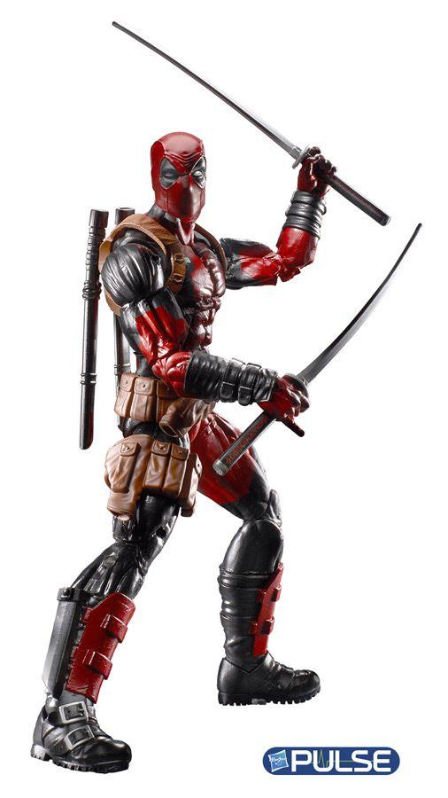 deadpool marvel legends 2016