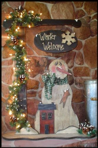 94 best wooden post ideas images on pinterest christmas for Christmas wood craft patterns