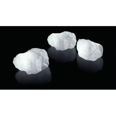 OUTDOORS LAMP shaped as a stone. LED lit. Lámpara Stone de Slide Lámpara de exterior Stone de Slide. Fabricada en polietileno y con sistema de iluminación LED RGB. Ideal para decorar tu jardín e integrarla con plantas y macetas. Consigue un espacio al aire de libre de lujo.
