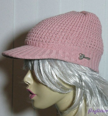 GUESS pink hat
