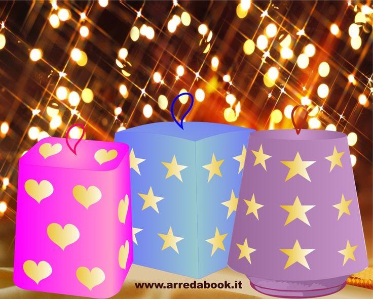 Sai che con i cartoni di pandoro e panettone puoi creare una lanterna per i bimbi dando magia alla loro cameretta? I bimbi si divertono tanto con questi lavoretti e, allo stesso tempo, imparano un'arte ormai importantissima: quella del riciclo. E' bello insegnare ai bimbi ad essere ECO e creativi !  Leggi l'articolo con tutti i passaggi per creare le lanterne>>> http://www.arredabook.it/arredare-riciclando/617-come-illuminare-le-nostre-feste-riciclo.html