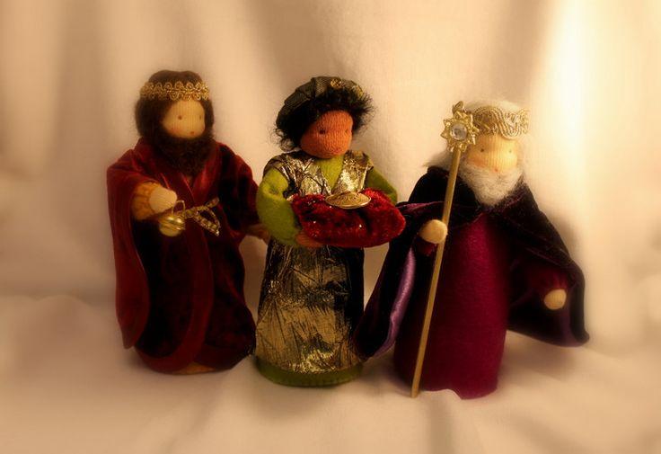 Jahreszeitentisch - Heilige 3 Könige - ein Designerstück von meine-mondschaukel bei DaWanda