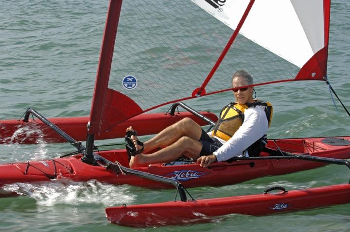 Mirage Hobie Cat Kayak. (With images) Hobie tandem