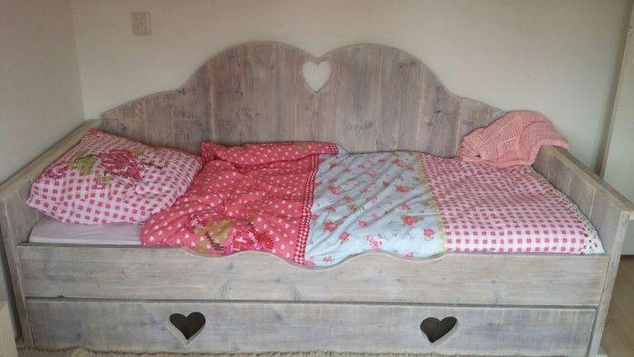 Super mooi meisjesbed van steigerhout google eens op Marktplaats POINTWOODDESIGN Helmond