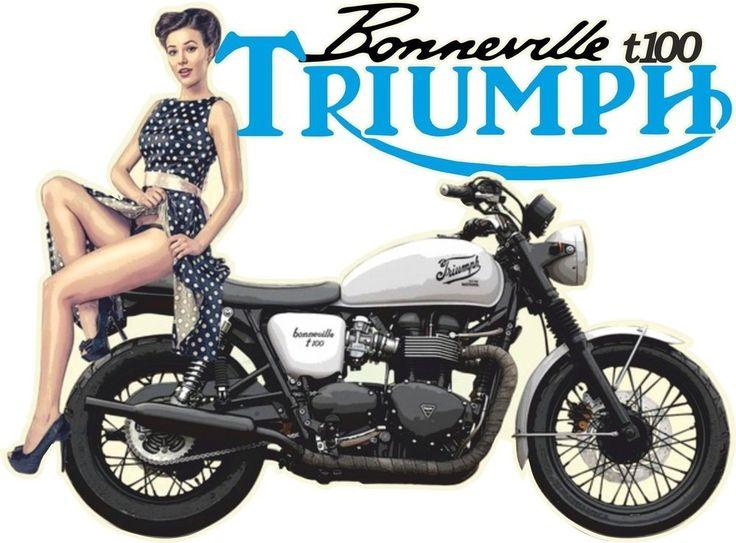 t shirts t-shirtT100 TRIUMPH BONNEVILLE MOTOR BIKE BRITISH BIKER CYCLE VINTAGE