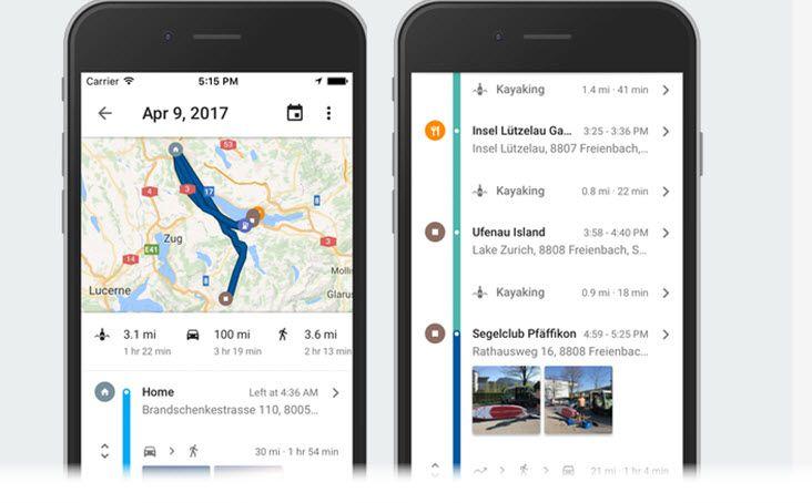 #Mapas Google Maps para iOS ya cuenta con historial de ubicaciones