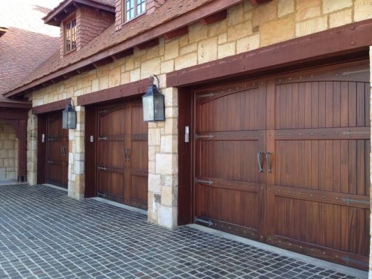 Garage Facade best 25+ double garage door ideas on pinterest | garage trellis