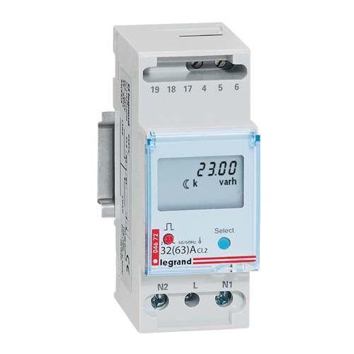 LEGRAND EMDX³ Compteur d'énergie monophasé direct 63A - 004672 - Disjoncteurs, différentiels, modules - Tous les produits 123elec.com