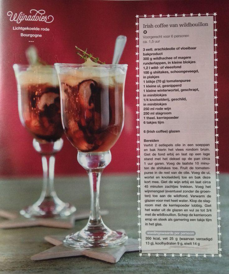 Irish coffee van wildbouillon recept. Boodschappen nr 12 | kerst 2014