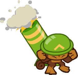 Bloons+TD+Battles+Towers+Official+Art | ... mortar tower official art information appearances bloons tower defense