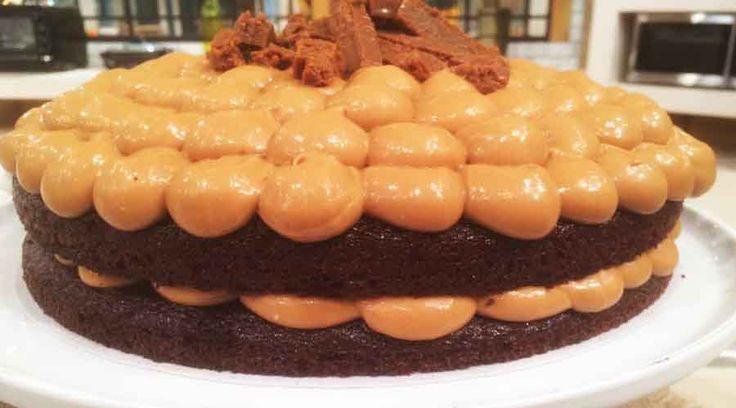 Torta bomba de chocolate apta para celíacos por Josefina Gil