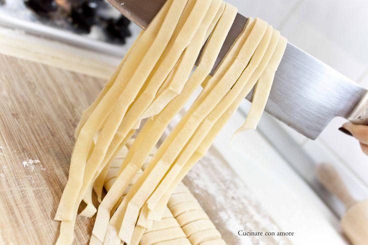 Cucinare con amore: Domácí těstoviny