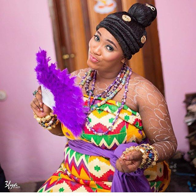 Naa ashorkor engagement dress pictures